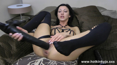 Anal and dildo