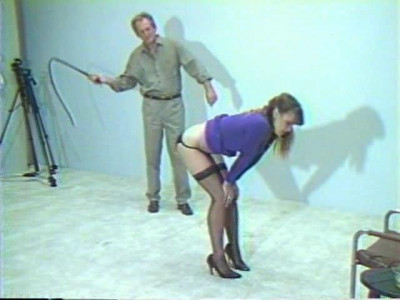 Julias First Whipping Session