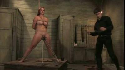 Milf slave tied