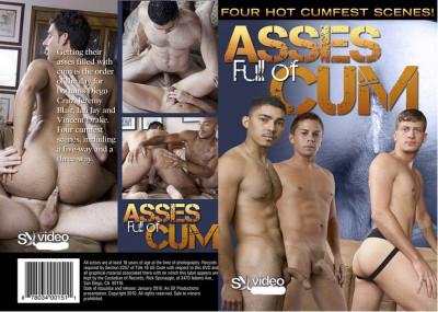 Asses full of cum