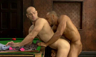 Snooker Bareback With Brutal Men