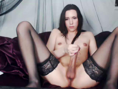 Amateur Webcam Shemale Scarlettdoll Solo