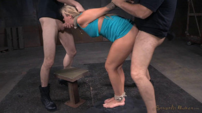 Madelyn tightly tied