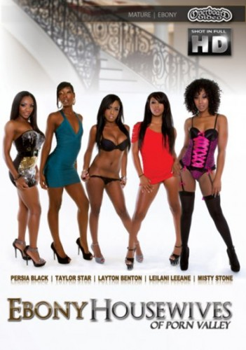 Description Ebony Housewives of Porn Valley (2013)
