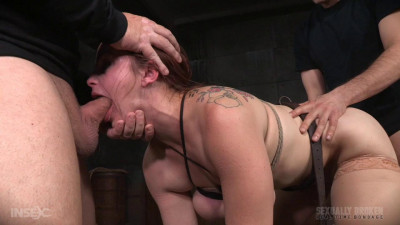 Bella Rossi - Bella bound bent over and turned into a sex sandwich (2016)