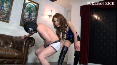 Cruel Ballbusting by Mistress Kira