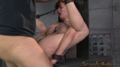 Redheaded  Veronica Avluv Bound And Fucked Rough And Hard