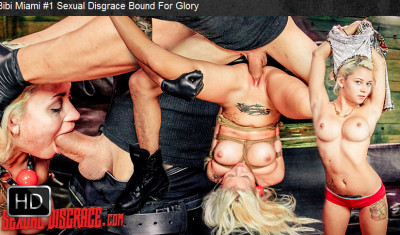 Sexualdisgrace — Feb 24, 2016 - Bibi Miami #1 Sexual Disgrace Bound For Glory