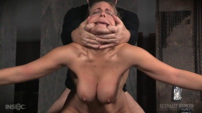 Angel Allwood BaRS Show Continues With A Spit Roasting On Hard Cock, Brutal BBC Deepthroat