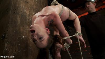 Girl Next Door Jessi Palmer In A Back Breaking Suspension, Skull Fucked, Made 2 Cum Over & Over