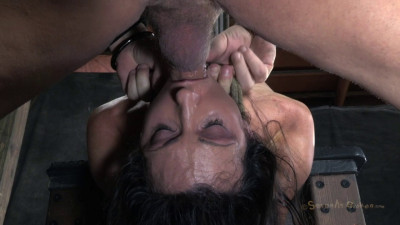 Wenona Get Roughly Deep Throated Her Huge Nipples Bound