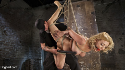 Cherry Torn Returns To Hogtied