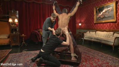 Alpha Stud Gives in to a Prolonged Edging