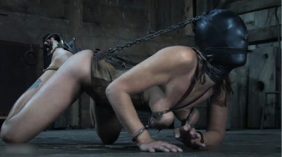 Hard bondage, torture, suspension and spanking for very hot bitch