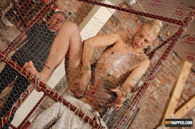 BoyNapped - Hardcore Prisoner Abuse (Deacon Hunter, Kenzie Mitch, Sebastian Kane)