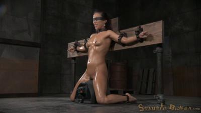 Natural Born Sexbot Kalina Ryu Throatboarded