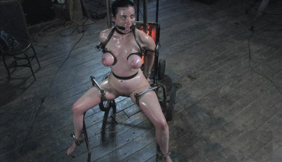 Hen grill in the BDSM