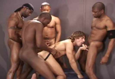Fat dicks & hot loads in hard orgy