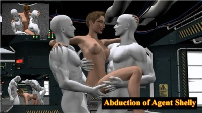 3D XXX Planet The Abduction of Agent Shelly