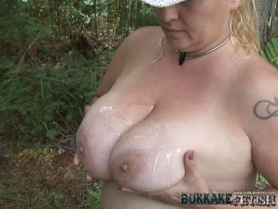 Horny Blonde Eats Cock