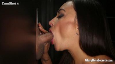 Claudias First Gloryhole Video