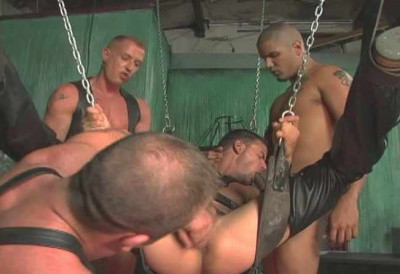 Rough Orgy with Brutal Men