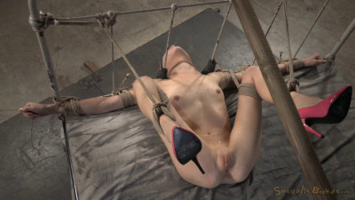 Thin Blindfolded Blonde