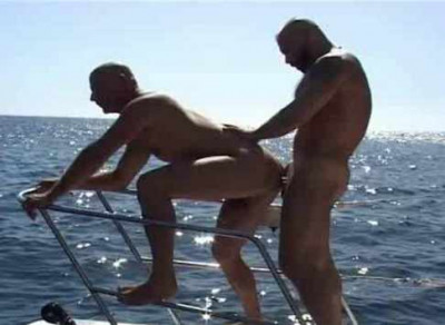 Bare Under the Sun With Muscle Fuckers