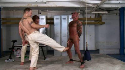 Naked Human Punch Bag (2013)