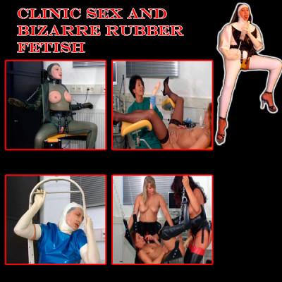 Clinic Sex and bizarre rubber fetish 15