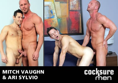 Mitch Vaughn and Ari Sylvio