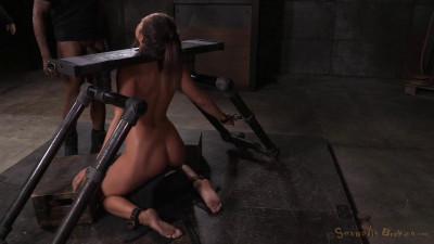 SexuallyBroken – Nov 18, 2015 – Utter Desruction By Dick For Abella Danger As She Is Facefucked