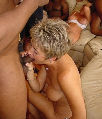 Blonde house Wives Banged