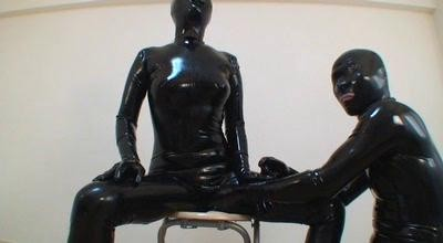 Hardcore rubber fetish and latex 27