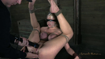 Courtney Taylor endure a gauntlet of rough deep throating, squirting and fucking! (SB 2013)
