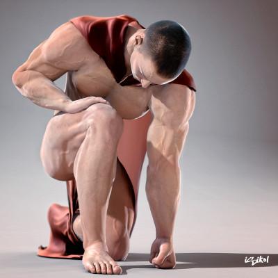 3D - Render Male