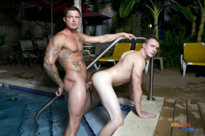 Zane Anders Flip Flops Bare with Sebastian Young