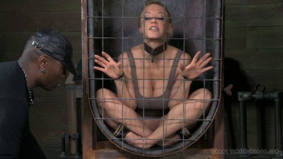 RTB - Darling blindfolded, caged and tagteamed by dick! - Apr 1, 2014