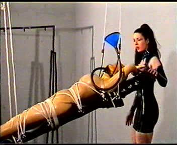 Devonshire - Scene DP-180 - Exotic Latex Bondage And Encasement part 6