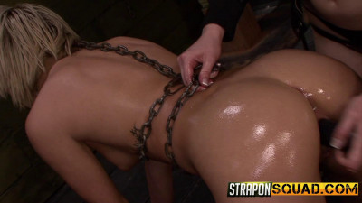 StraponSquad – Jan 06, 2015 – Riley Ray Plays With Her Caged Pet Marina Angel