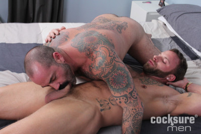 Scotty Rage Barebacks Derek Parker