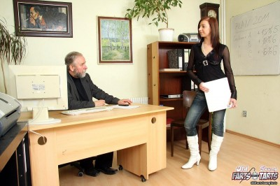 Regina G - The new secretary