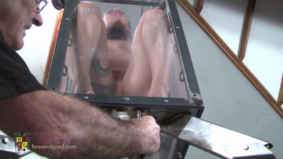 Houseofgord – Fucked And Vibrated In A Glass Box  HD 2015