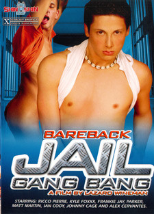 [Skin to Skin Films] Bareback jail gang bang Scene #1