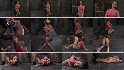 Hot Latina Jynx Maze suffers Bondage is Deep Throated & Fucked Hogtied & Made to Cum