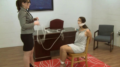 Anna Lee And Elizabeth Andrews Inappropriate Attire Discipline (2015)