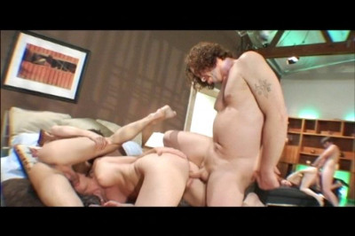 Pale Redhead DP'ed In Foursome