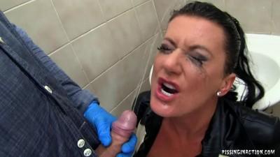 Full Service Bathroom Attendant Pissing (2013)