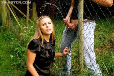 Pound and Piss From the Other Side of the Fence Filesmonster Peeing