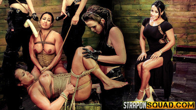 Brooklyn Daniels & Mila Blaze Love Rope Bondage with Cougar Becca Diamond